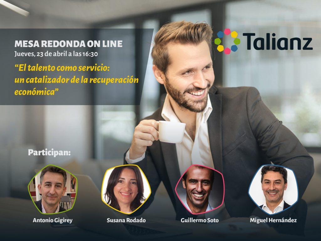 El talento como servicio, mesa redonda online Talianz