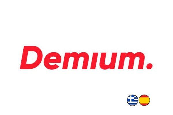 Logotipo de Demium, cliente de Talianz