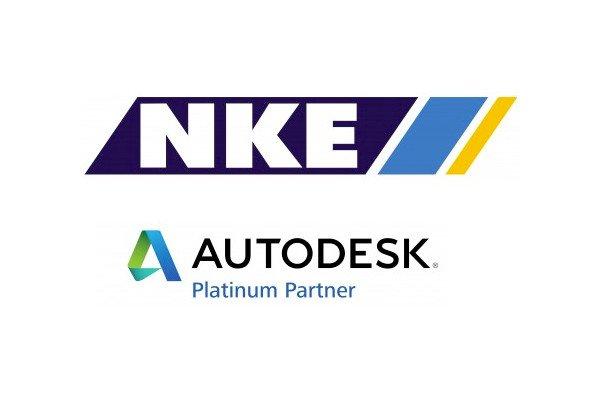 Logotipo de NKE Autodesk, cliente de Talianz