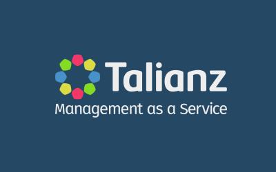 Talianz logo azul