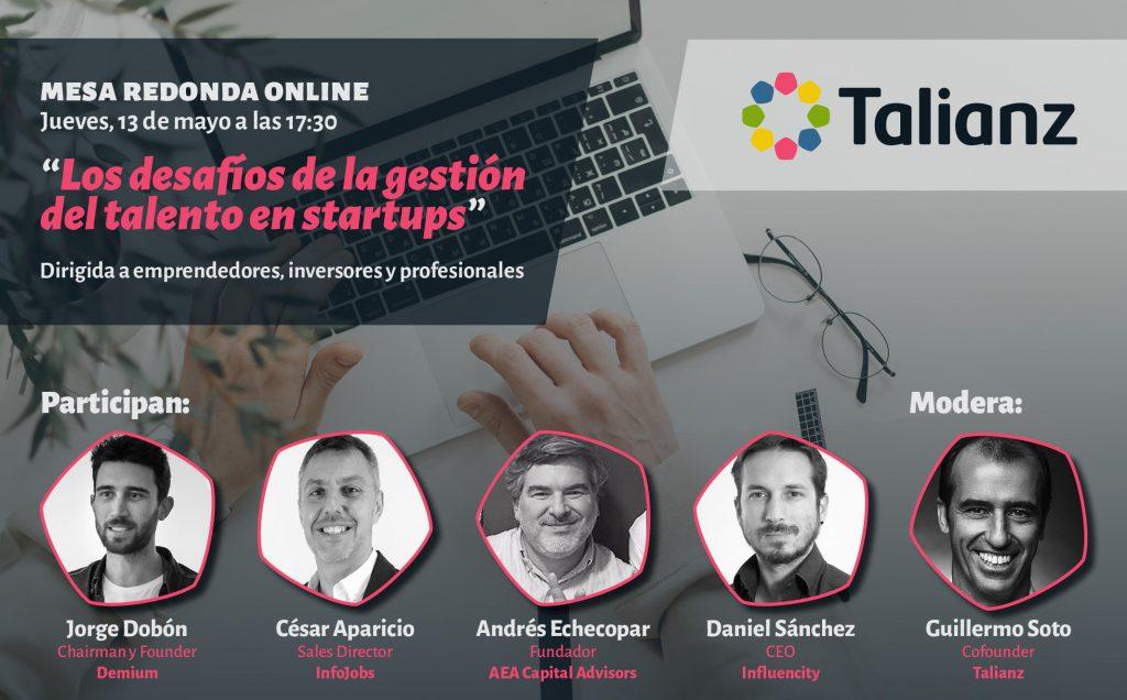 La gestión del talento en Startups